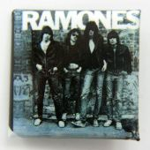 Ramones - 'Group' Square Badge